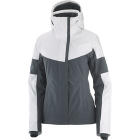 Salomon Speed Jacket Women, wit/grijs